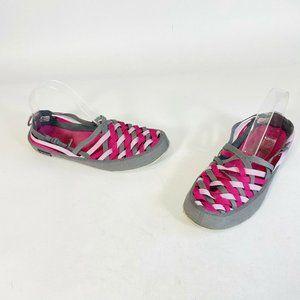 Patagonia Advocate Pink Lattice Woven Vegan Sneaker Comfort Shoes Women's US 9